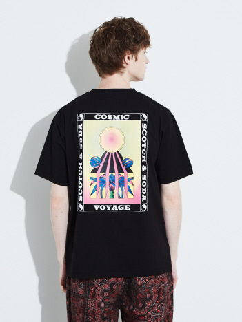 ABAHOUSE - 【SCOTCH & SODA】バックプリントTシャツ  292-14400