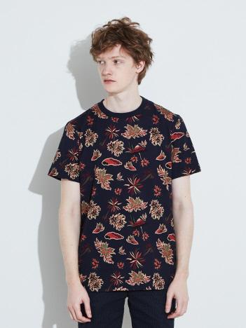 【SCOTCH&SODA 】総柄 半袖Tシャツ