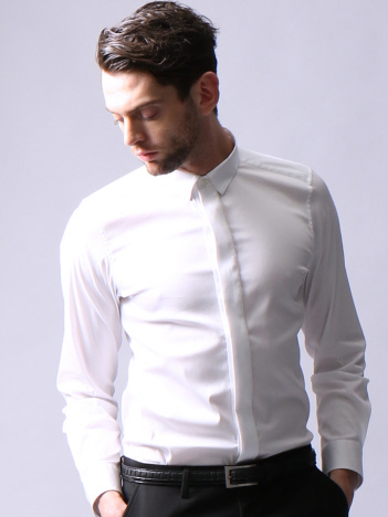 アルビニドビーストレッチドレスシャツ