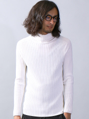5351POUR LES HOMMES - 【定番/新色】ホールガーメンタートルネックニット
