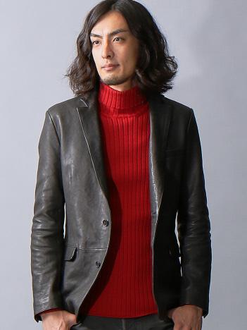 ラムレザーアンコンジャケット