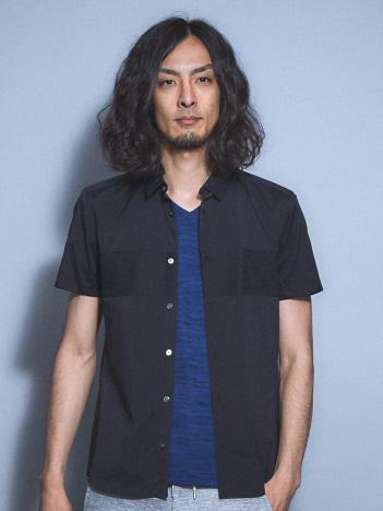 5351POUR LES HOMMES - コンビネーション半袖シャツ