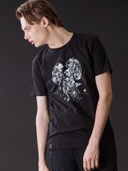 5351POUR LES HOMMES - アニマルクルーネックTシャツ