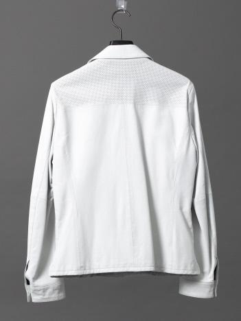 OUTLET (MEN'S) - ウォッシャブルラムレザーシャツ
