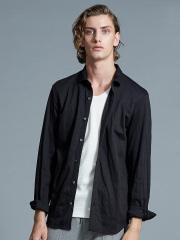 5351POUR LES HOMMES - ヘリンボーンジャージーシャツ