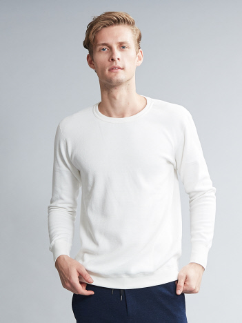 OUTLET (MEN'S) - サーマルクルーネックカットソー