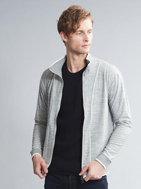 ウールカルゼトラックジャケット