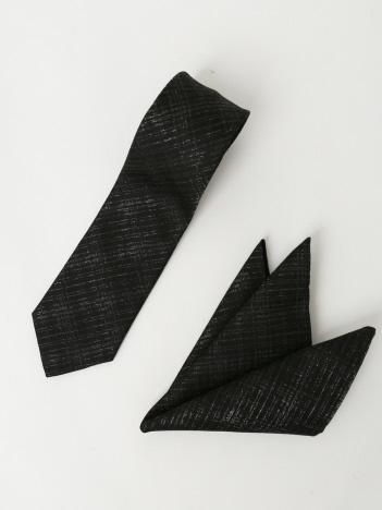 ラメチェック ネクタイ