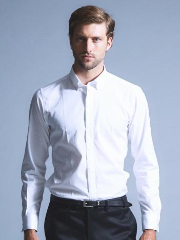 MONTI ストレッチドレスシャツ