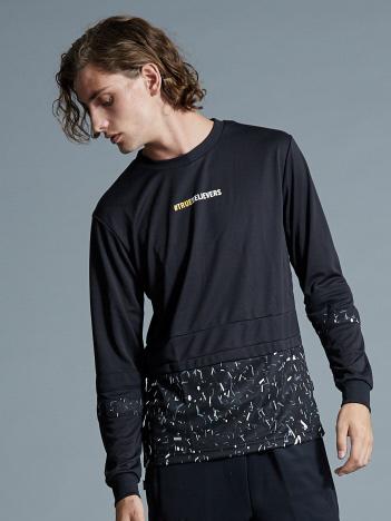 5351POUR LES HOMMES - 【SPALDING×5351】グラフィックロングTシャツ