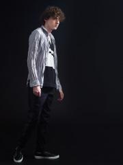 5351プール・オム エアリーツイル製品ワッシャーシャツ