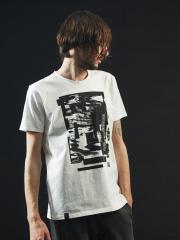 【ノイズデザイン】クルーネックTシャツ