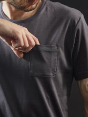 5351POUR LES HOMMES - 【クルーネック】プライマリースムース半袖Tシャツ