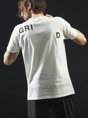 5351POUR LES HOMMES - 【タイポグラフィー】プリント クルーネック Tシャツ