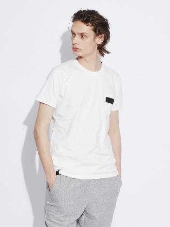 【ワンラインポケット】クルーネックTシャツ
