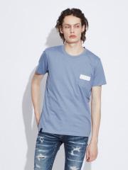 5351POUR LES HOMMES - 【ワンラインポケット】クルーネックTシャツ
