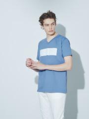 5351POUR LES HOMMES - 【ワンラインBOX】Vネック半袖Tシャツ