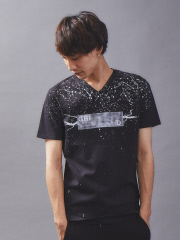 5351POUR LES HOMMES - 【数量限定】リメイクTシャツ (ペーパープリント)
