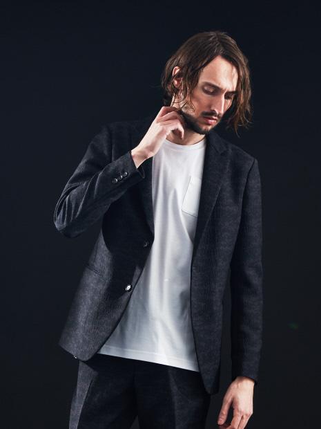 【セットアップ対応】デジタルカモフラージュ ノッチドラペル ジャケット