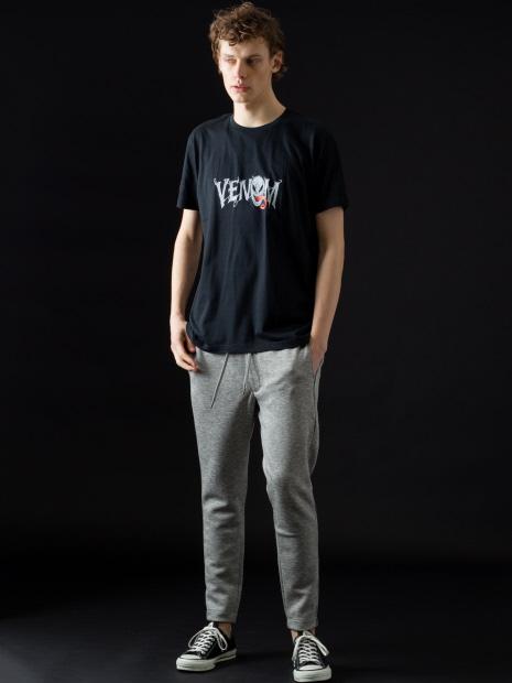 ヴェノムロゴ フィットTシャツ
