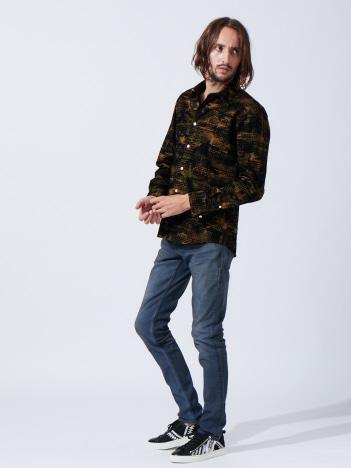 【19AW新作】フロッキーチェックシャツ