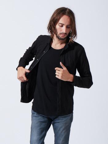 5351POUR LES HOMMES - ニットカノコワッシャーシャツ