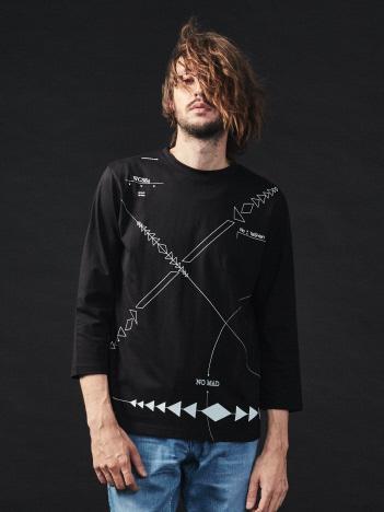 5351POUR LES HOMMES - ノマドロングTシャツ