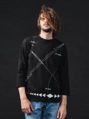 5351POUR LES HOMMES - 【19AW新作】ノマドロングTシャツ