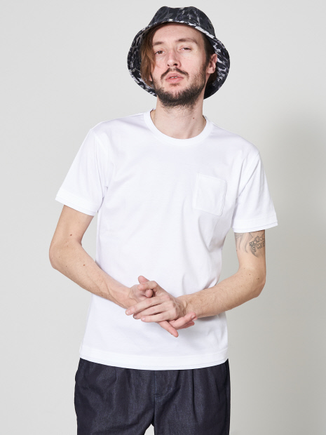【20SS】アリオリティ・スムース クルーネック 半袖Tシャツ