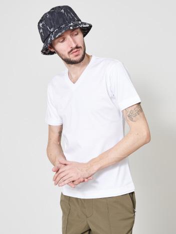 5351POUR LES HOMMES - 【20SS】アリオリティ・スムース Vネック半袖Tシャツ