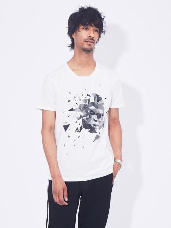 5351POUR LES HOMMES - エイプグラフィックデザイン半袖Tシャツ【予約】