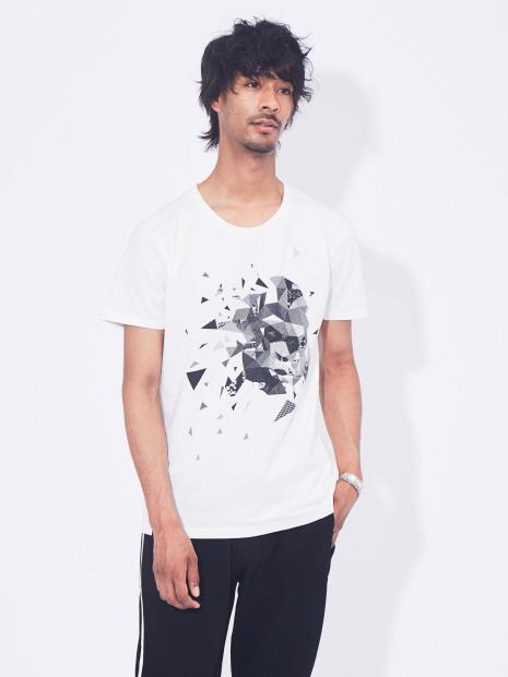 エイプグラフィックデザイン半袖Tシャツ