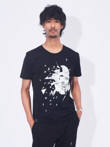5351POUR LES HOMMES - エイプグラフィックデザイン半袖Tシャツ