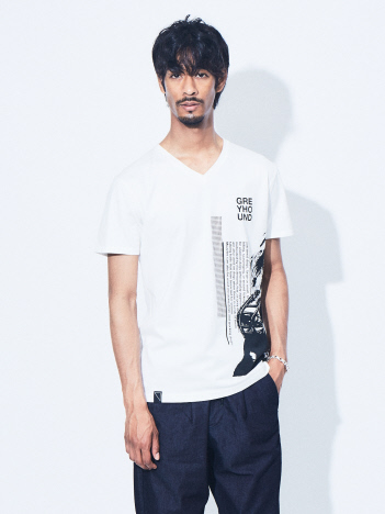 5351POUR LES HOMMES - グレイハウンド 半袖Tシャツ【予約】