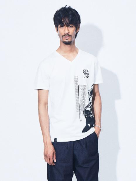 グレイハウンド 半袖Tシャツ