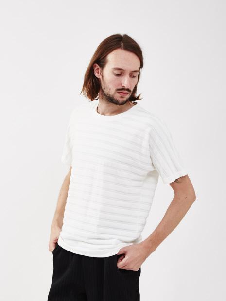 【20SS新作】ベロアボーダーTシャツ