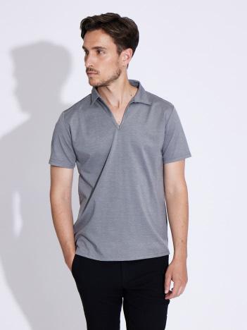 【21SS新作】スキッパーポロシャツ