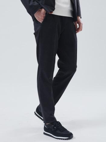 5351POUR LES HOMMES - 【セットアップ対応】CARREMAN ジャージー チェック スリム テーパード パンツ