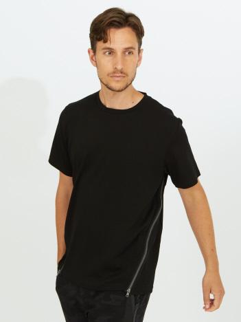 サイドZIP 半袖 Tシャツ