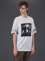 5351POUR LES HOMMES× THE BEATLES ニットTシャツ