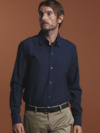 DESIGNWORKS (MEN'S) - シャンブレーオックスタブカラーシャツ