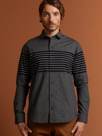 DESIGNWORKS (MEN'S) - ウィンドペン+ボーダーシャツ