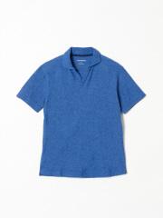 DESIGNWORKS (MEN'S) - ミニパイルスキッパーポロシャツ