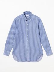 DESIGNWORKS (MEN'S) - 先染めカラミストライプシャツ
