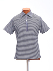 DESIGNWORKS (MEN'S) - サッカーボーダーポロシャツ