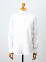 DESIGNWORKS (MEN'S) - ボタニカルエンブロイダルドビーシャツ