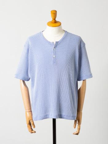 OUTLET (MEN'S) - ワッフル 半袖ヘンリーTシャツ