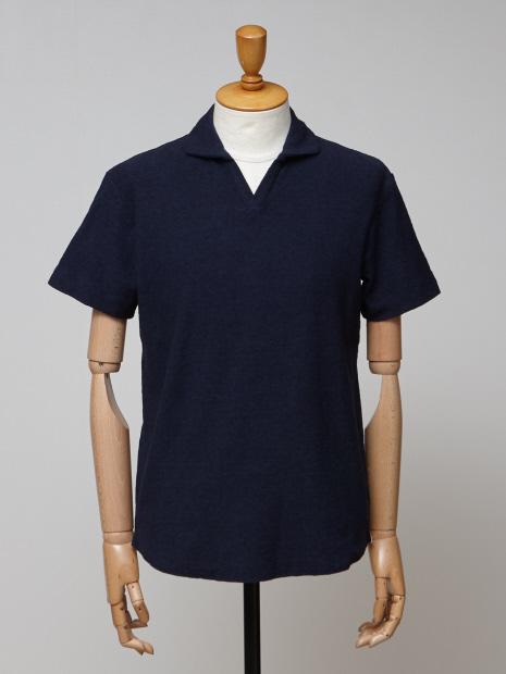 ミニパイル スキッパーポロシャツ