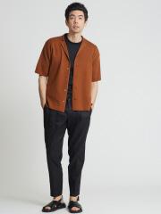 DESIGNWORKS (MEN'S) - キュプラシルクニットシャツ