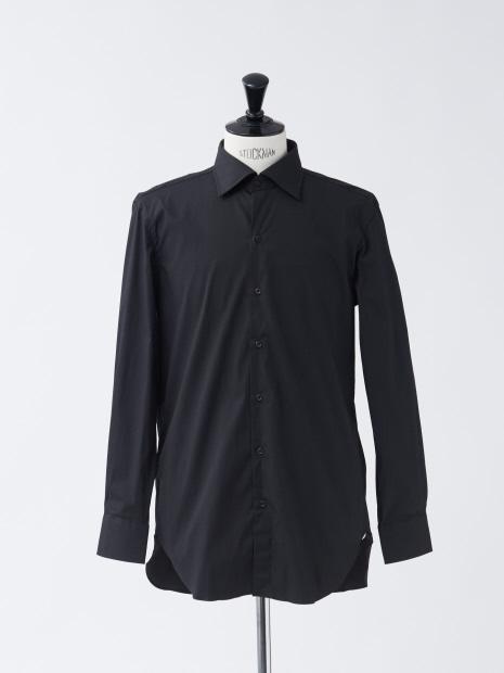 ブロードストレッチセミワイドシャツ